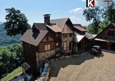 Million Dollar View Eaglesnest Custom Home by Kidder Construction